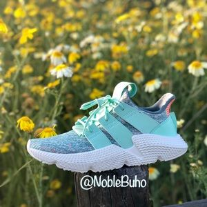 Adidas Prophere - Clear Mint Solar Red